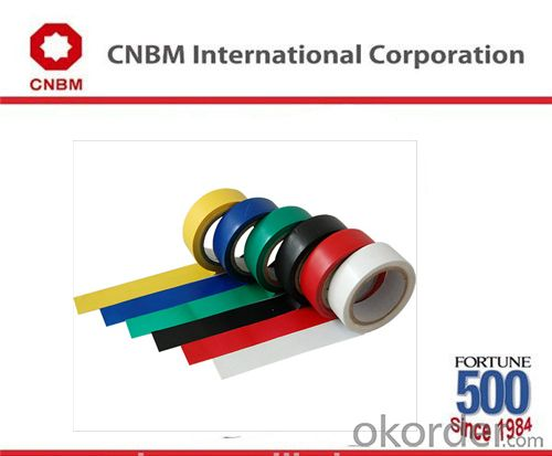 Insultation PVC Tape Jumbo Rolls at Different Color