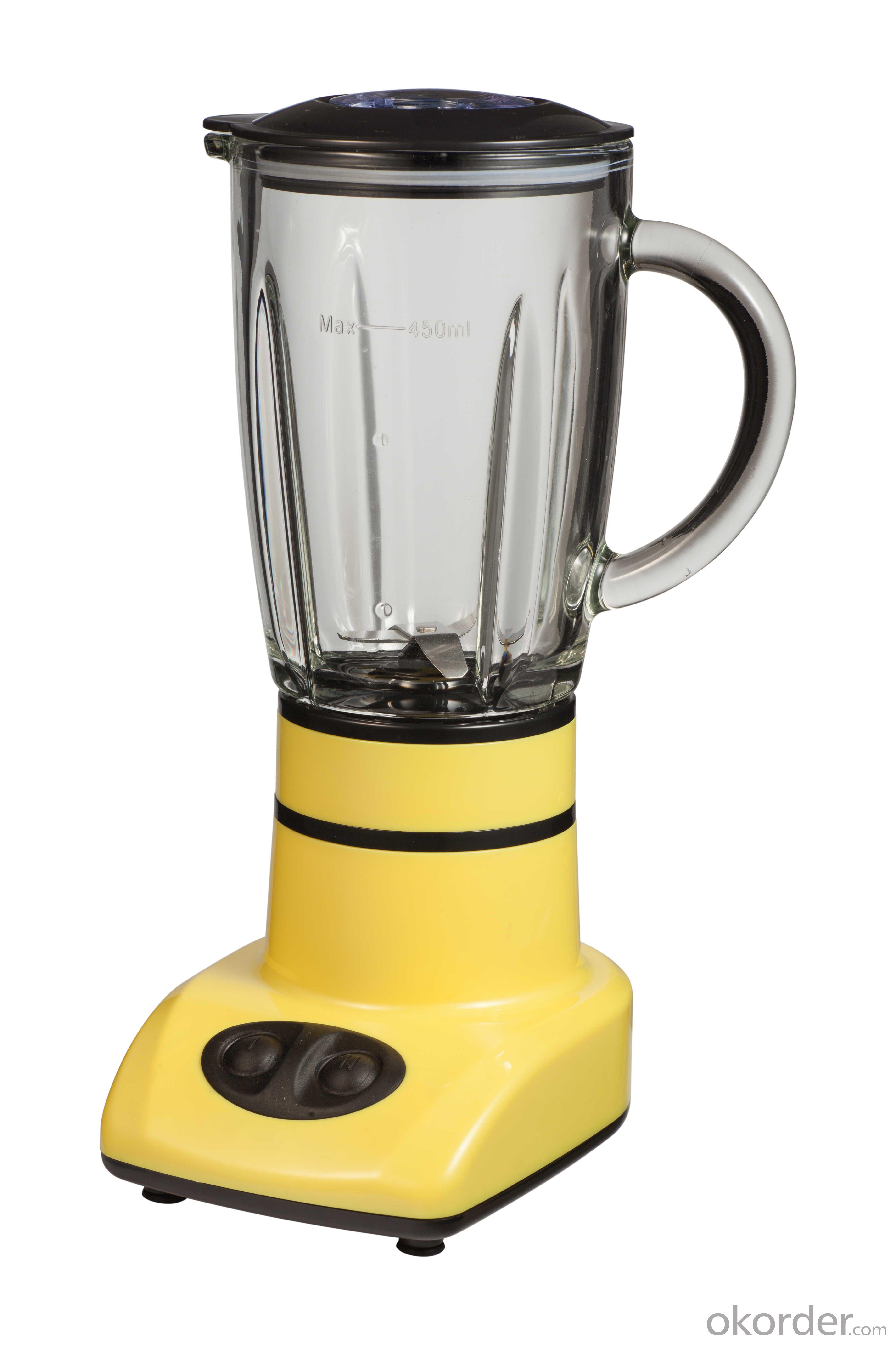 Two speeds and glass jar blender DZ-2009G