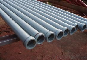 Delivery Pipe With Sk Flange 4.5mm ST52 Three Meter DN125