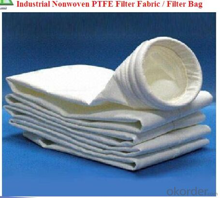 Industrial Nonwoven PTFE Filter Fabric Filter Bag