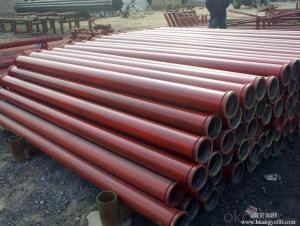 Delivery Pipe With SK Flange 7.1mm ST52 DN125