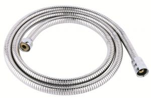 stainless steel double lock or single lock shower hose with 58-3A brass nuts