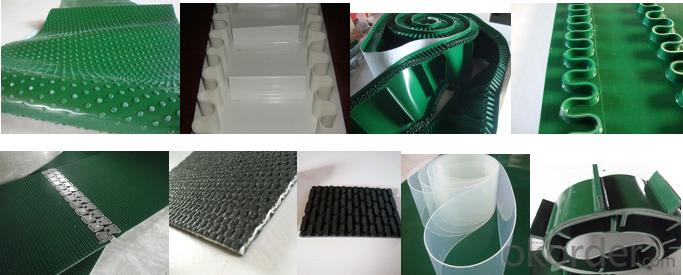 Light Duty PVC Conveyor Belt Polyurethane/PU Conveyor Belt