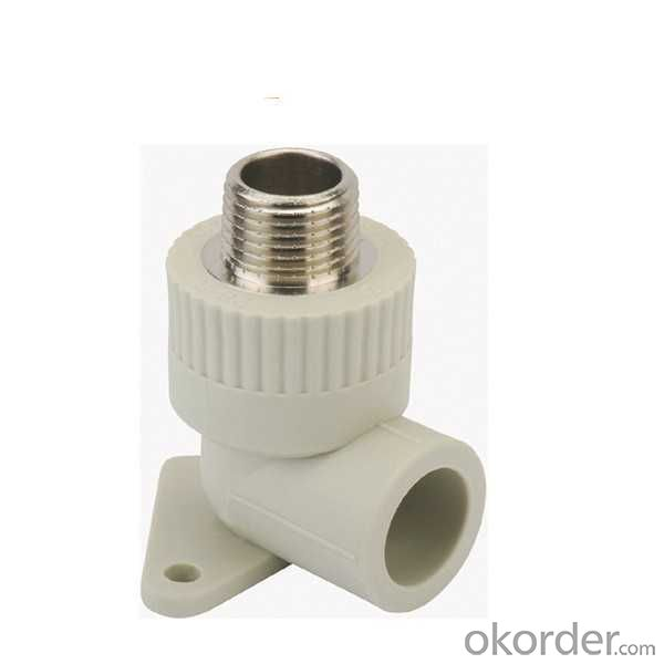 High   Quality  Male threaded  elbow  with  disk