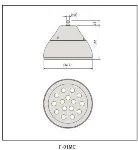 Alone electrical box Highbay Lighting F-01M