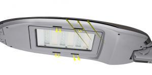 LED Outdoor Street Lighting Die-cast Aluminium Body JD-1032D
