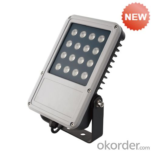 PP plastic reflector by chrome  Flood Lighting TG-120S2