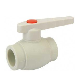 High Quality B4 Type PP-R ball valve with brass ball