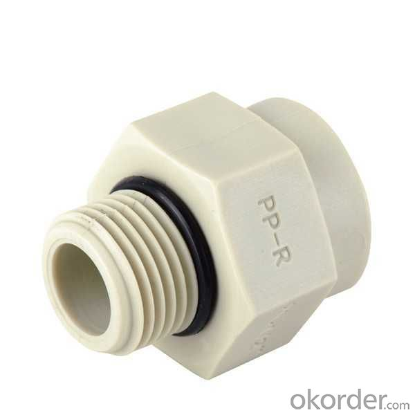 Buy ppr pipe fitting all plastic reducer male thread quot dg