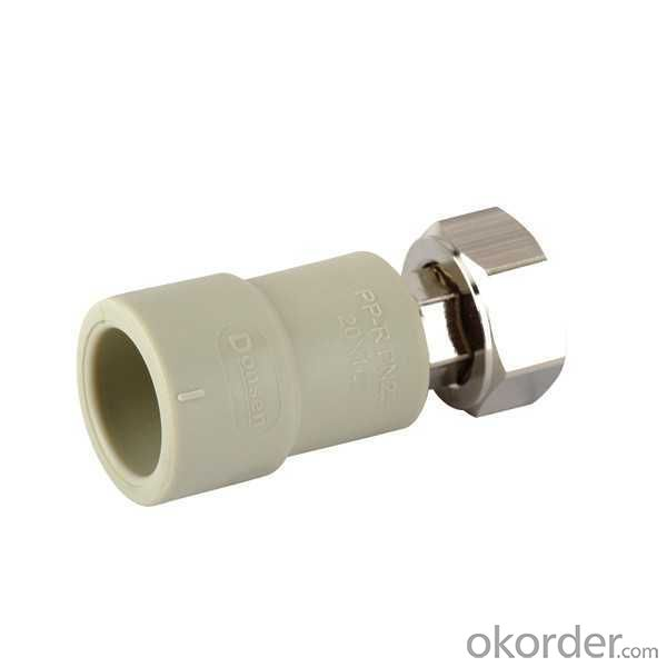 High   Quality  Threaded union with coupling for water heater