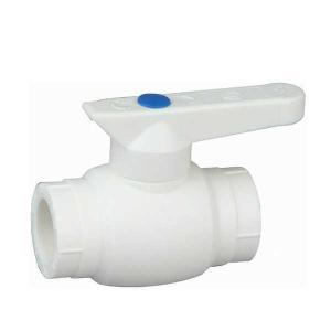 High Quality A4 Type PP-R ball valve with brass ball