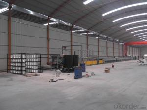 Latest FRP lighting sheet production line