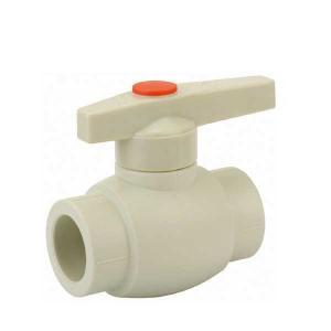 High Quality B2 Type PP-R ball valve with brass ball