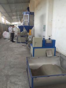 EPS Foam Recycling And Pelletizing Line  LDG-SJP-160-90