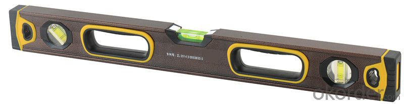 Spirit Level YT-2012-1  first class accuracy:0.5mm/m, with strong magnets, double milled surface