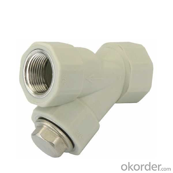 High   Quality  PP-R Double female  threaded  filter