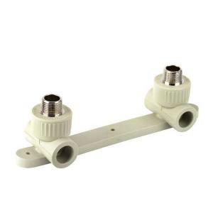 High   Quality  Double male tee with tap connector