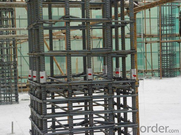 Steel Coupler Rebar Steel from Jiangsu China