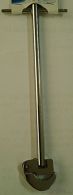 Basin Wrench, hot forging and hrad treatment;