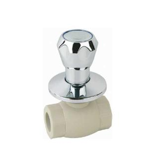 High Quality F7 type PPR single female threaded luxurious ball valve with brass ball