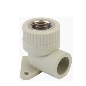 High   Quality  Female threaded  elbow  with  disk