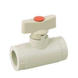 High Quality PP-R mini ball valve with brass ball