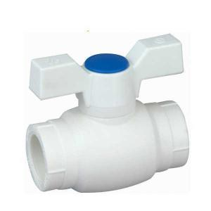 High Quality A5 Type PP-R ball valve with brass ball