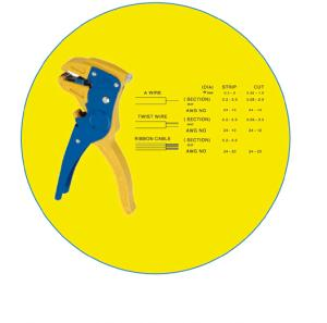 Automatic Wire Stripper  SQ-WS-104. Steeland Nylon  alloy; Bearing steel blade