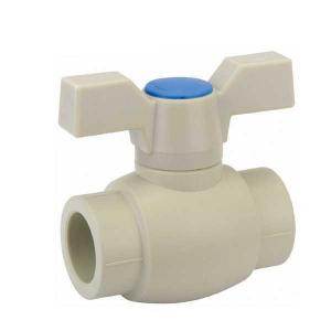 High Quality B5 Type PP-R Ball valve with brass ball