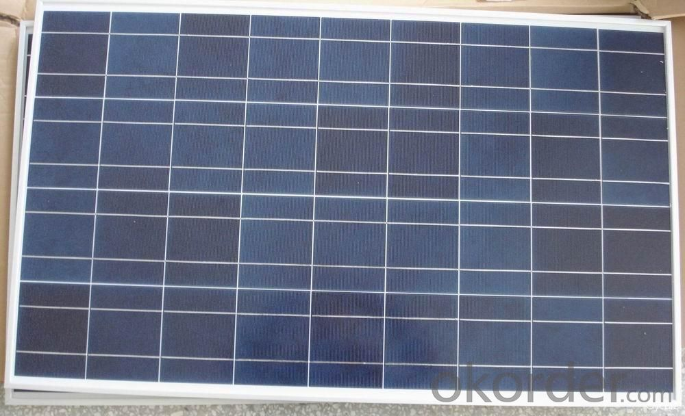 High Efficiency Poly Solar Panel 50w CE TUV UL Approvied