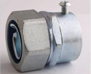 SET SCREW FLEXIBLE CONDUIT CONNECTOR-ZINC