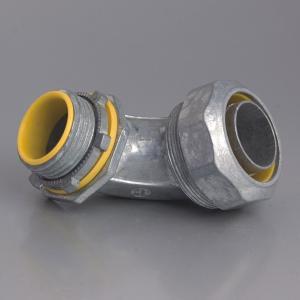 LIQUID TIGHT CONNECTOR-ZINC , Liquid-tight angle connector