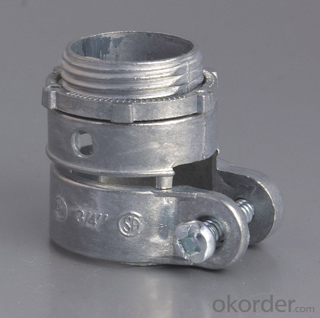 SQUEEZE CONNECTOR-ZINC,Snap-in connector, snap-lock connector,
