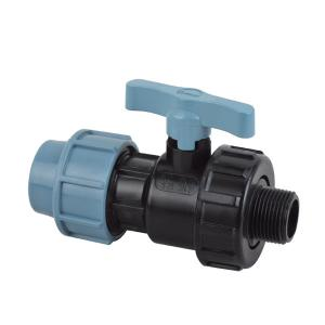 High   Quality Male single union ball valve