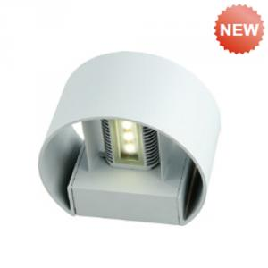 Die-cast aluminium body wall light B-11RLED