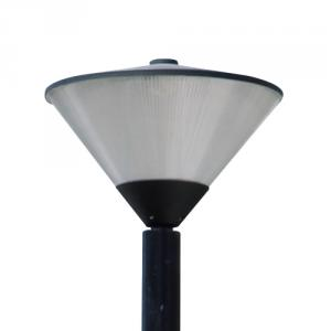 Anodized aluminium reflector and PC diffuser street light T-02LED