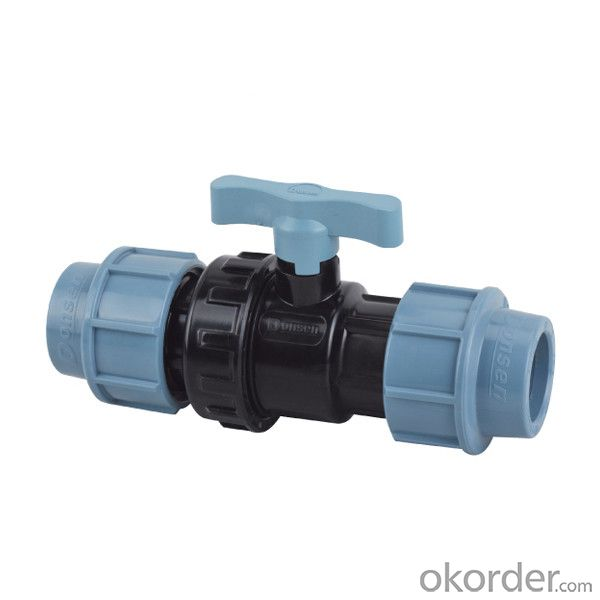 High   Quality  Double  union  ball  valve