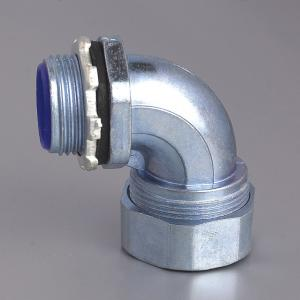 FLEXIBLE CODNUIT CONNECTOR-ZINC Elbow Connectors