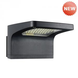 Die-cast aluminium body PMMA diffuser wall light B-140