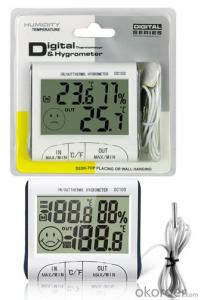 Mini LCD Digital In/Out Thermo Digital Temperature Humidity Meter Temperature and Humidity Meter