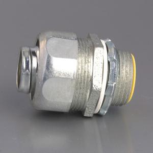 LIQUID TIGHT CONNECTOR-MALLEABLE IRON,Liquid-tight straight connector