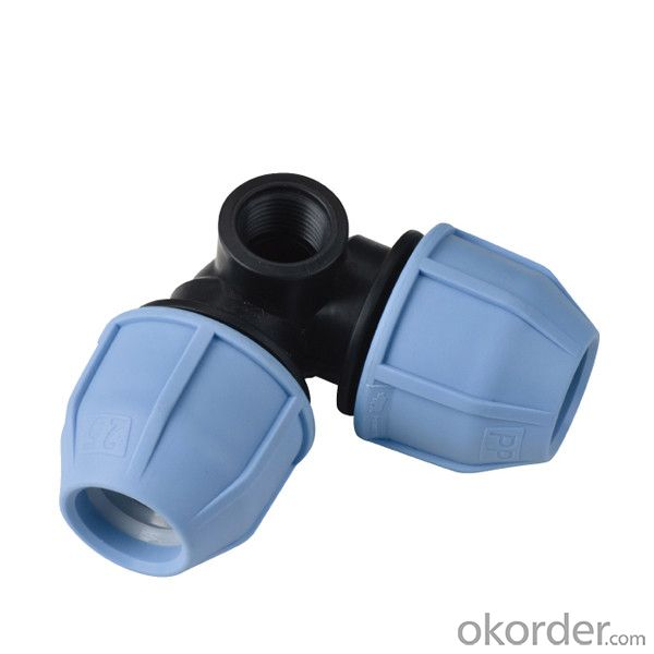 High  Quality   90 Elbow with lateral threaded female take off