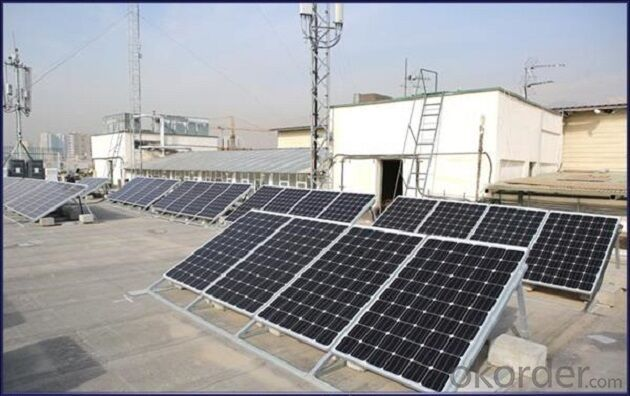 CE and TUV Approved 235W Mono Solar Panel