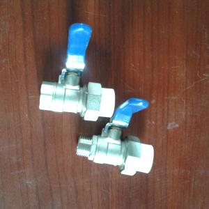 Double Live Copper Ball Valve Pipe Fittings for For kitchen Bathroom Use