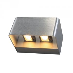 Die-cast aluminium body wall light B-11DLED