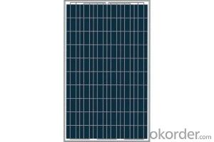 CE and TUV Approved 210W Mono Solar Panel