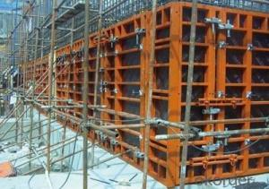 Steel Frame Formwork for Column Construction