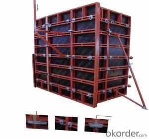 Steel Frame Formwork for Column Construction