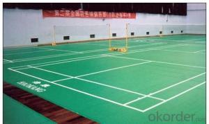 PVC Flooring Sports Pvc Flooring Plastic Flooring K