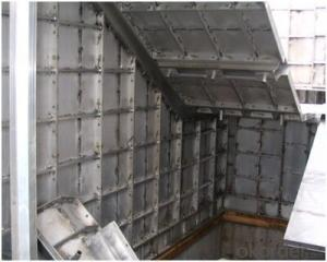 Whole Aluminum Stair Formwork for Core Wall